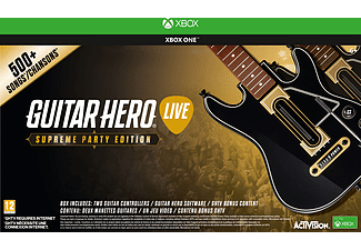 Guitar Hero Live Supreme Party Edition (inkl. 2st gitarrer) Xbox One