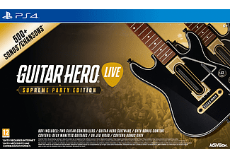 Guitar Hero Live Supreme Party Edition (inkl. 2st gitarrer) PS4