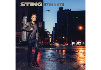 Sting - 57th & 9th (Black Vinyl) | LP