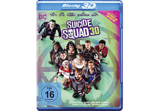 Suicide Squad (Kinofassung & Extended Cut) - (3D Blu-ray (+2D))