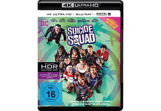 Suicide Squad (Kinofassung & Extended Cut) - (4K Ultra HD Blu-ray + Blu-ray)