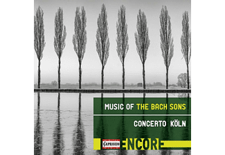 Gerald Hambitzer, Concerto Köln - Music of the Bach Sons - (CD)