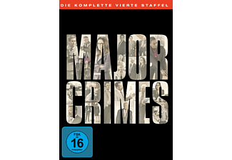 Major Crimes Staffel 4 - (DVD)