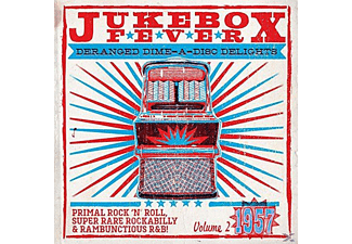 VARIOUS - Jukebox Fever-1957 - (LP + Bonus-CD)