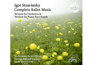 Maki Namewaka, Sinfonieorchester Basel - Stravinsky: Complete Ballet Music (Orchestral and - (CD)