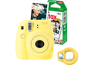 FUJIFILM INSTAX MINI 8 GELB FUN- SET