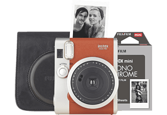 FUJIFILM INSTAX MINI 90 BRAUN RETRO SET