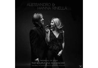 Alessandro & Hanna Rinella - The Kouple Live In Concert - (CD)