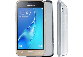 "VOLTE-TEL Θήκη Samsung Galaxy J1 2016 J120 4.5"" Silicon Grey - (5205308161094)"