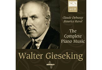 Walter Gieseking - The Complete Piano Music - (CD)