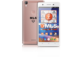 MLS Diamond 4G Fingerprint 8C Rose Gold DS
