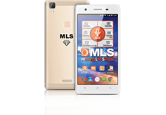 MLS Diamond 4G Fingerprint 8C Gold DS - (33.ML.530.190)