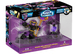 SKYLANDERS Skylanders Imaginators: Combo Pack (Master Mysticat, Magic Creation Crystal) Spielfiguren