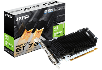 MSI GeForce GT 730 2GB DDR3 (V809-001R)( NVIDIA, Grafikkarte)