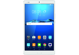 HUAWEI MediaPad M3 LTE, Tablet mit 8.4 Zoll, 32 GB Speicher, 4 GB RAM, LTE, Android™ 6.0 (Marshmallow) mit Emotion UI 4.1, Silber