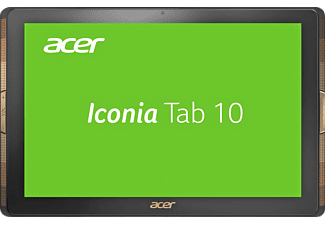 ACER Iconia Tab 10  (A3-A40), Tablet mit 10.1 Zoll, 32 GB Speicher, 2 GB RAM, Android™ 6.0 (Marshmallow), Schwarz