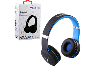 VOLTE-TEL Stereo Bluetooth Headphones V Sound Pro VT900 Black-Blue