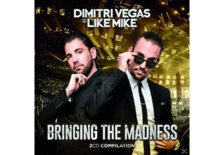 Dimitri Vegas & Like Mike - Bringing The Madness - (CD)