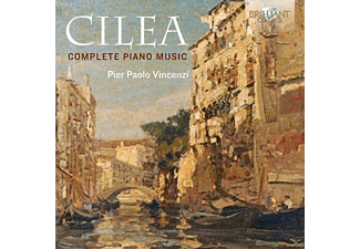 Pier Paolo Vincenzi - Complete Piano Music - (CD)