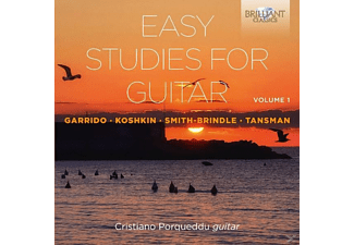 Porqueddu Cristiano - Easy Studies For Guitar Vol.1 - (CD)
