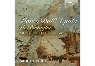 Sandro Volta - La Battaglia Lute Music Vol.2 - (CD)
