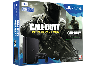 SONY PS4 Slim 1 TB + Call of Duty + 2nd Dualshock