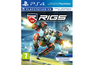 PS4 VR RIGS: Mechanized Combat League Action