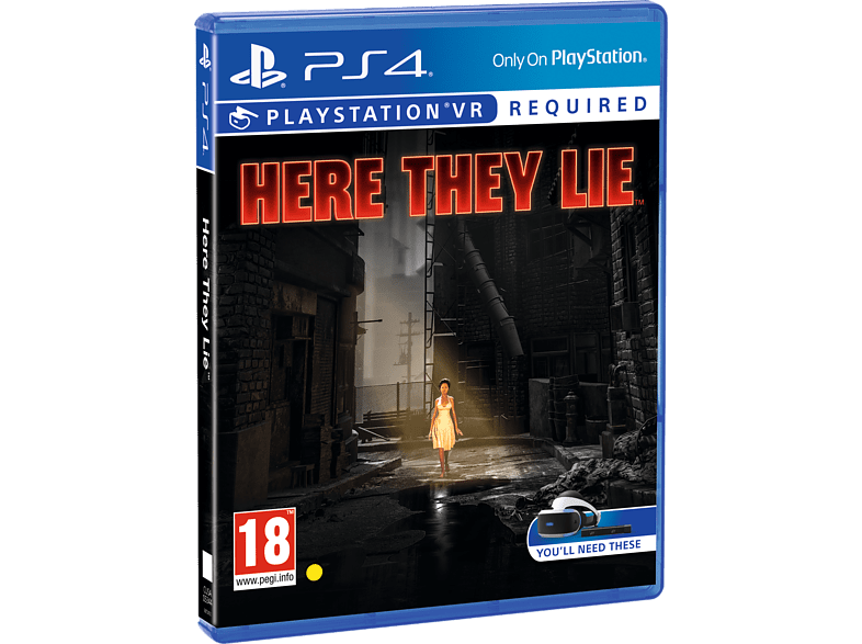 Here They Lie VR PlayStation 4 gaming games ps4 games