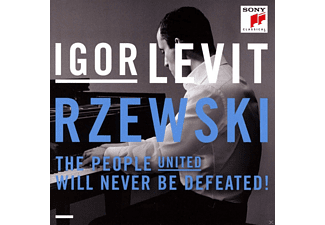 Igor Levit - The People United Will Never Be Defeated-36 Var. - (CD)