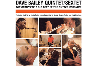 Dave Bailey - Complete 1 & 2 Feet in the Gutter Sessions (CD)