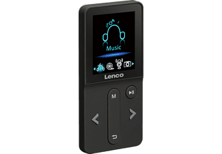 LENCO Xemio-240, MP3-Player, 4 GB, Schwarz