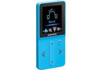 LENCO Xemio-240, MP3-Player, 4 GB, Akkulaufzeit: , Blau