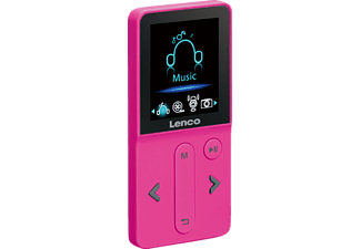 LENCO Xemio-240, MP3-Player, 4 GB, Akkulaufzeit: , Pink