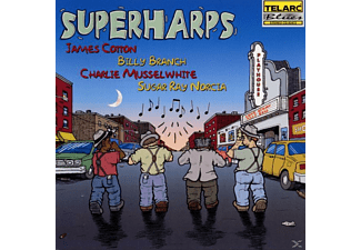 Sugar Ray Cotton/branch/musselwhite/norcia - Superharps - (CD)