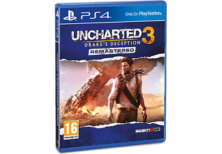 Uncharted 3: Drakes Deception Remastered PS4