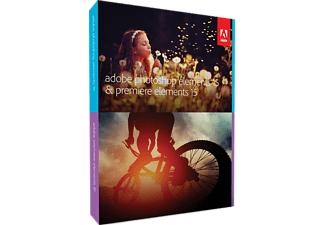 Adobe Photoshop Elements 15 + Premiere Elements 15 PC/Mac Engels