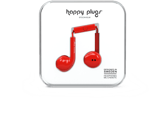 HAPPY PLUGS Earbud Plus - Röd