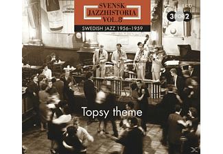 VARIOUS - Swedish Jazz History, Vol. 8 (1956-1959) - (CD)