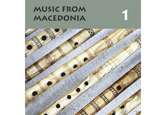 The Ensemble Of National Instruments, Stefce Stojkovski, Muzáfer Mahmud, Pece Atanasovski, Ansambl Biljana, Stara Veleska Chalgija, Kaliopi Bukle, Ensemble Üsref, Svetlana Bykova-Voznesenska - Music From Macedonia 1 - (CD)