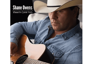 Shane Owens - Where I'm Comin' From - (CD)
