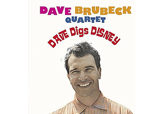 Dave Brubeck Quartet - Dave Digs Disney (CD)