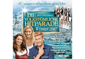 VARIOUS - Die Volkstümliche Hitparade Winter 2017 - (CD)