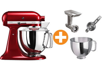 kitchen aid 5ksm175pseca artisan rot zubeh r k chenmaschinen online kaufen bei saturn. Black Bedroom Furniture Sets. Home Design Ideas