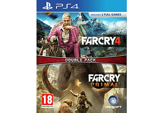 Far Cry Primal & Far Cry 4 - Double Pack PS4