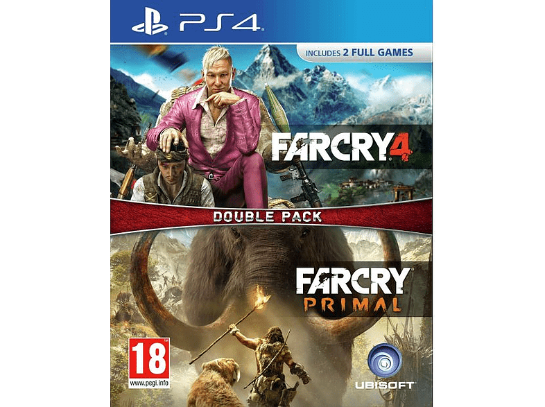 Far Cry Primal & Far Cry 4 - Double Pack PlayStation 4 gaming games ps4 games