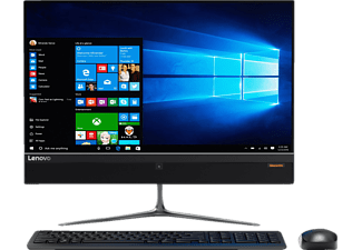 LENOVO IdeaCentre AIO 510, All-In-One PC mit 23 Zoll, WVA (Wide Viewing Angle) Display, 1 TB Speicher, 8 GB RAM, A9 Prozessor, Schwarz