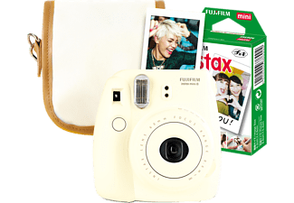 FUJIFILM INSTAX MINI 8 WEISS TRAVEL SET