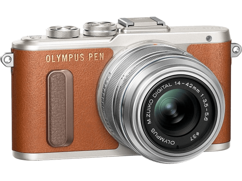 OLYMPUS E-PL8 Pancake Kit EZ-M 14-42mm EZ Brown/Silver - (V205082BE000) photo   video   offline φωτογραφικές μηχανές mirrorless cameras hobby   φωτογραφ