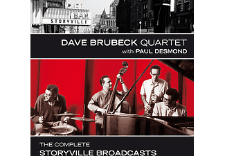 Dave Brubeck Quartet, Paul Desmond - The Complete Storyville Broadcasts (CD)