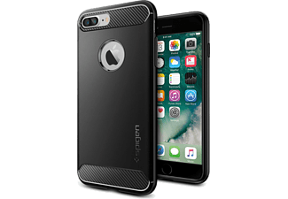 SPIGEN Rugged Armor iPhone 7 Plus Zwart